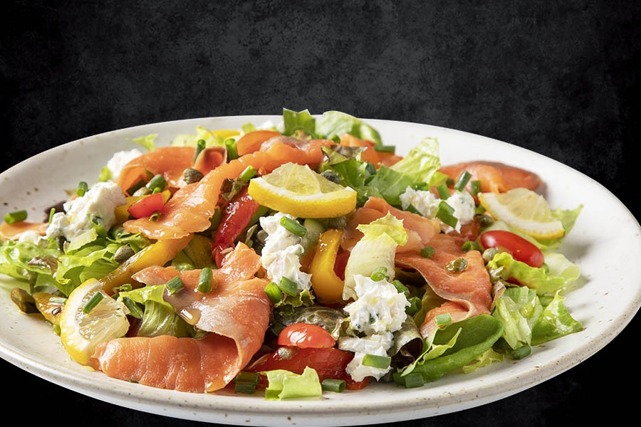 Salmon Cream Cheese Salad